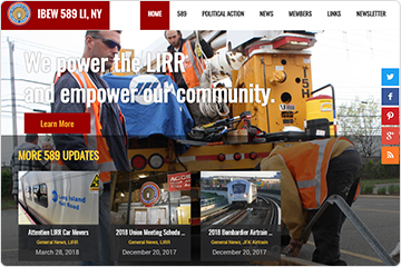 IBEW589 Long Island Railroad Union Website